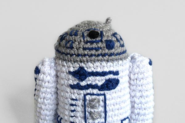 R2D2 crochet