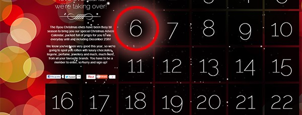 advent calendar byoutifulyou