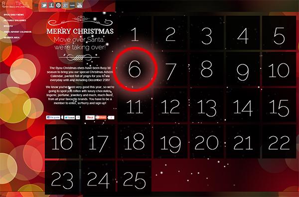 advent calendar byoutifulyou