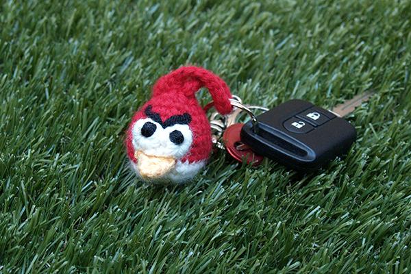 angry bird crochet