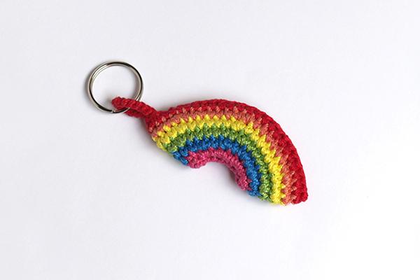 crochet rainbow arcoiris ganchillo