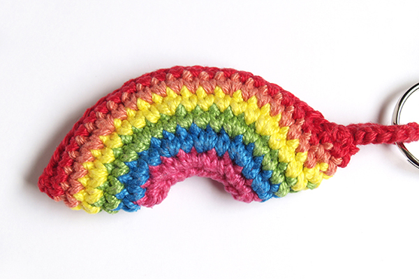 crochet rainbow arcoiris ganchillo