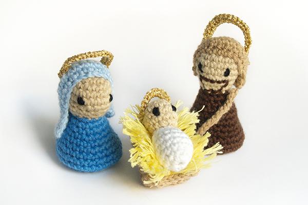 crochet nativity scene / belen de ganchillo