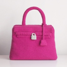 bolso kelly ganchillo crochet bag