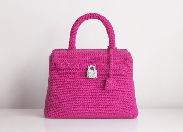 bolso kelly ganchillo crochet bag