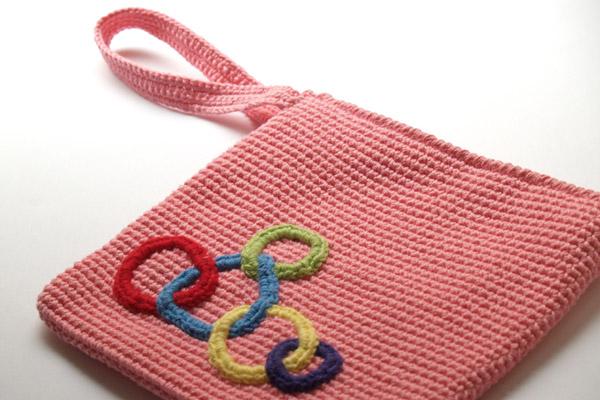 bolso rosa olímpico