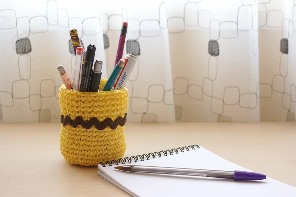 bote lapices crochet