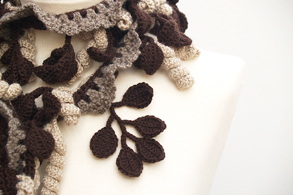crochet scarf / bufanda de ganchillo