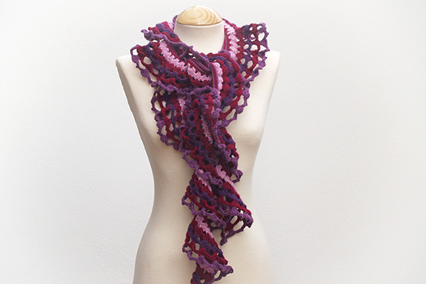 bufanda de ganchillo crochet scarf