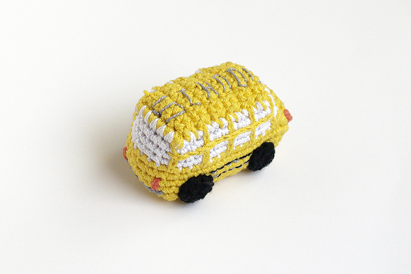 amigurumi school bus escolar