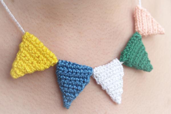 collar ganchillo / crochet necklace