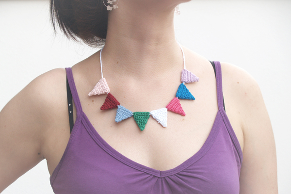 collar ganchillo / crochet necklace