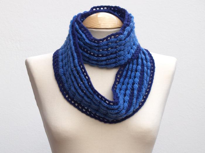 cuello bufanda ganchillo
