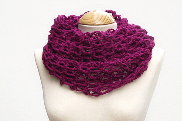 cuello ganchillo - crochet snood scarf