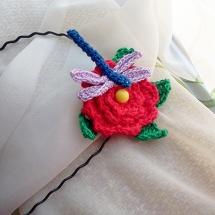 diadema libélula / dragonfly headband