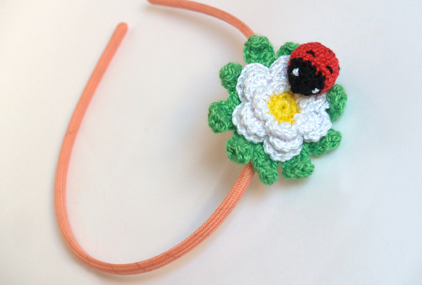 diadema mariquita / ladybug headband