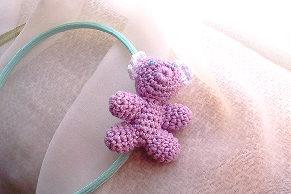 diadema osito / teddy bear headband