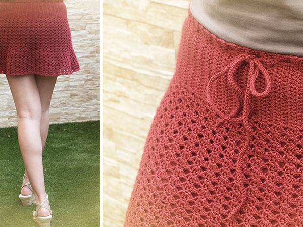 falda de ganchillo / crochet skirt