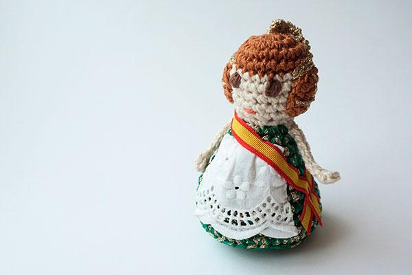 crochet falleras