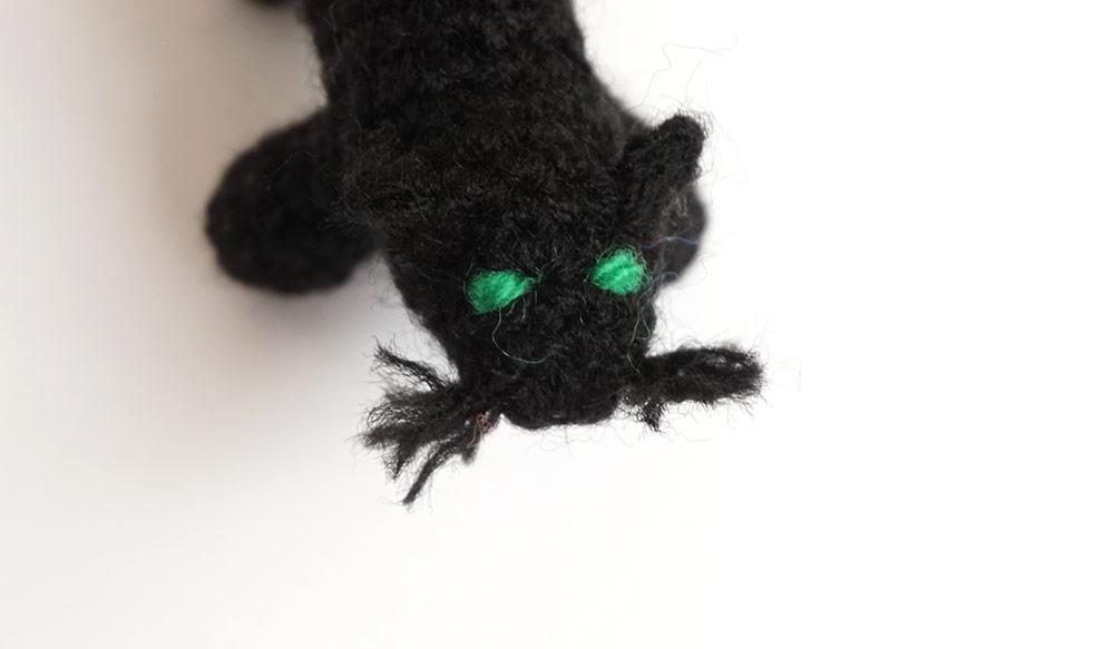 halloween amigurumi silayaya cat gato