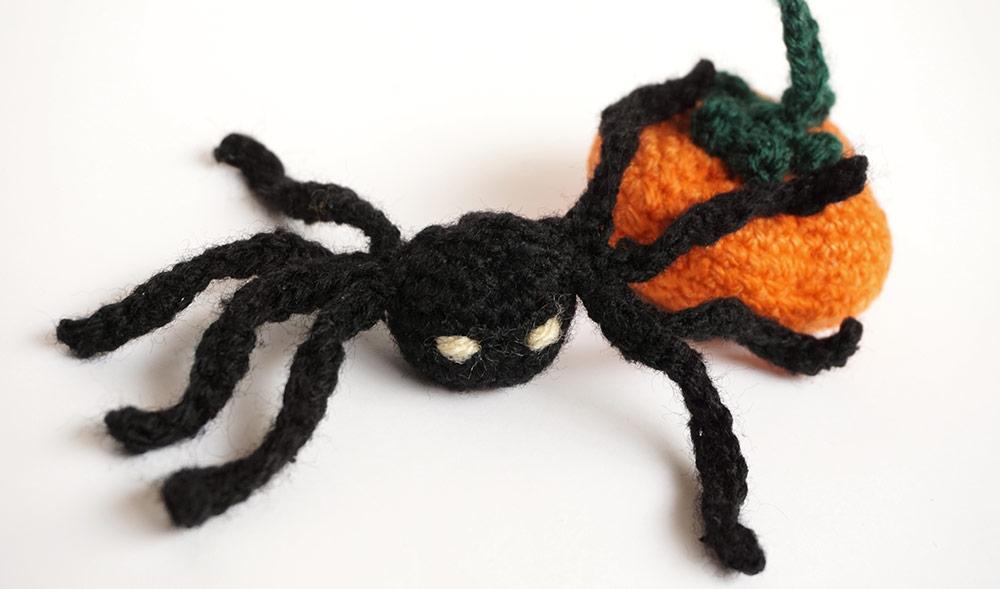 halloween amigurumi silayaya spider anana