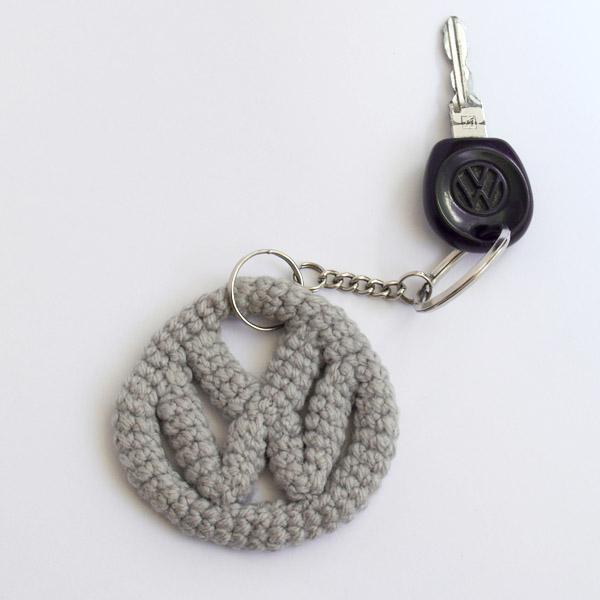 crochet , ganchillo , key ring , llavero , volkswagen