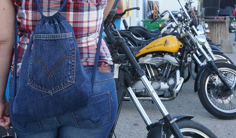 tutorial mochila vaquera jeans backpack