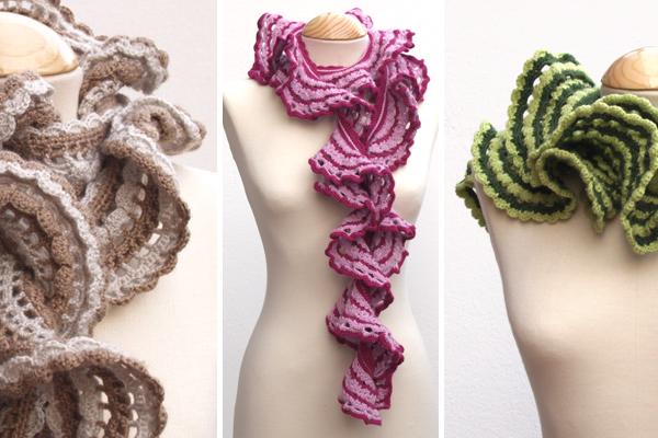 bufandas ganchillo / crochet scarves