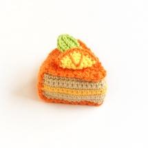 pastel ganchillo crochet cake