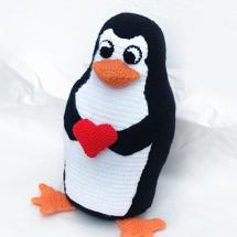 pinguino ganchillo