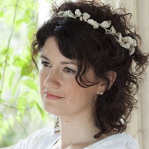 tocado novia bridal head piece