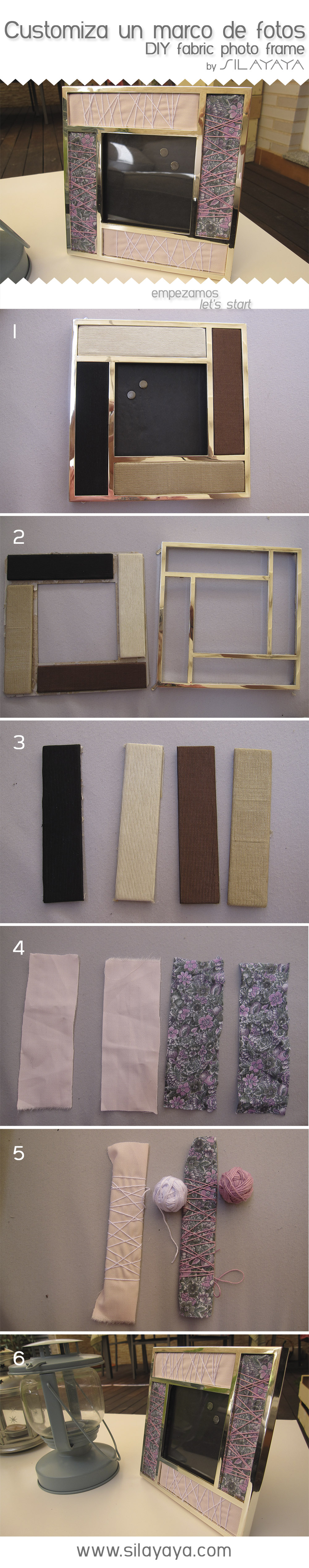 tutorial diy marco fotos
