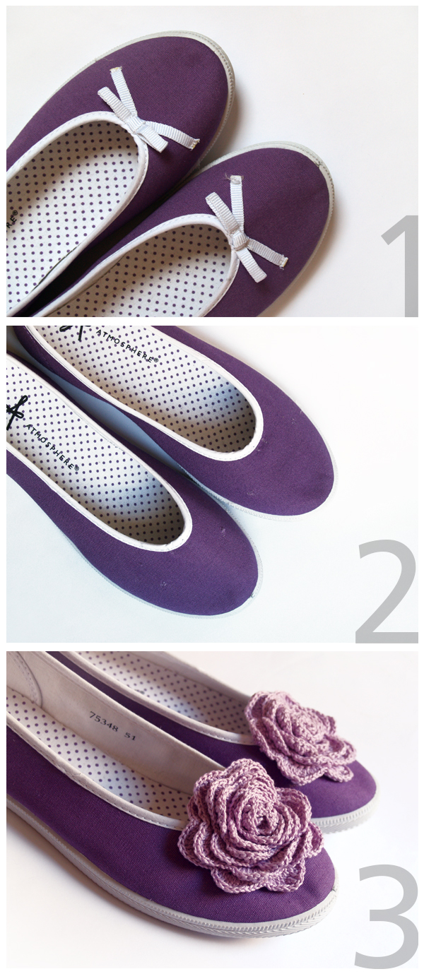 diy flat shoes / tutorial zapatillas