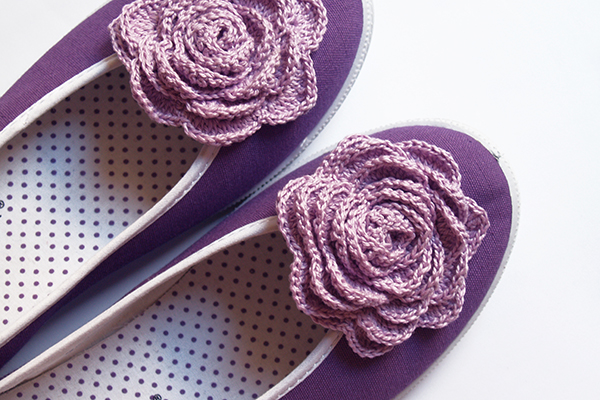 crochet shoes / zapatillas con ganchillo